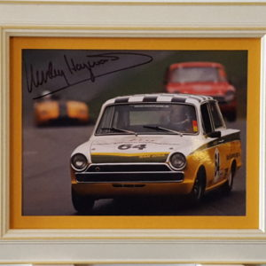Team Lotus Cortina Signed by Haywood