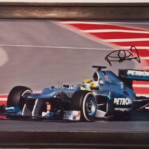 Nico Rosberg Autographed Photo