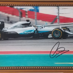 Lewis Hamilton #3 Autographed Framed Photo