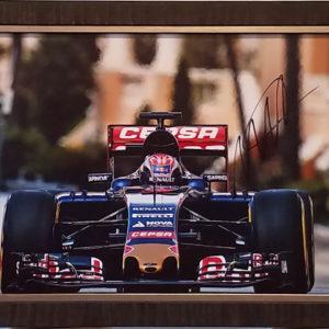 Max Verstappen Signed Monaco 2015 Photo