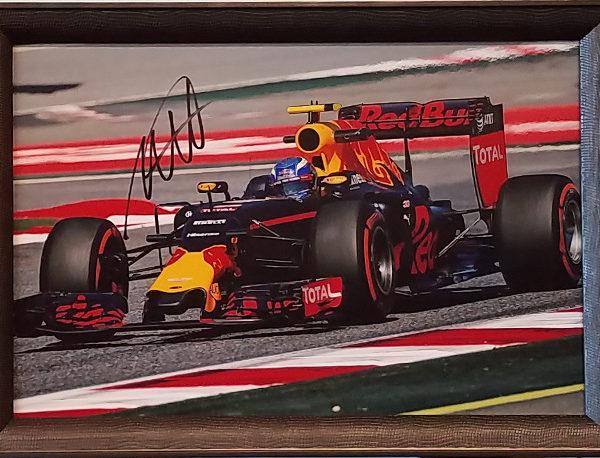 Max Verstappen Signed Red Bull Photo #3
