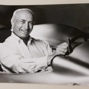 Fangio 7 Car Racing Photo
