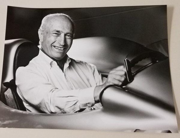 Fangio 7 Car Racing Photo