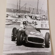 Fangio 8 Car Racing Photo