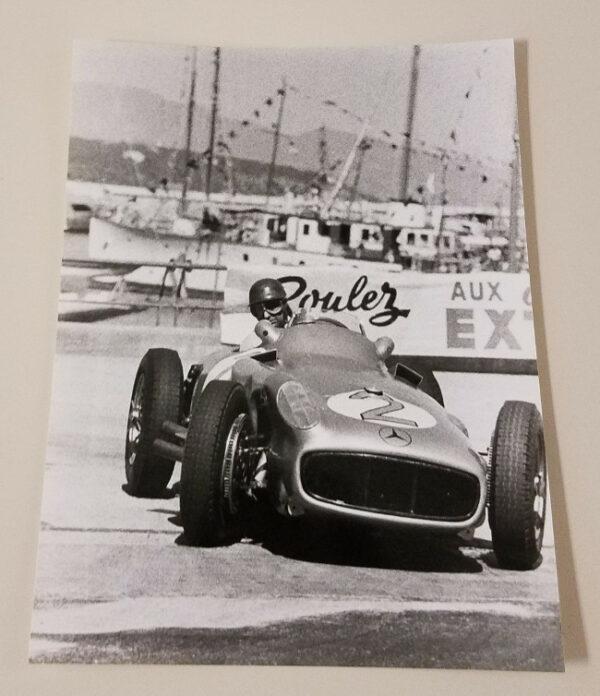 Fangio 8 Car Racing Photo