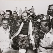 Fangio 9 Car Racing Photo