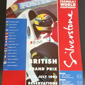 SilverStone1993Poster