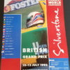 1992 Silverstone Poster