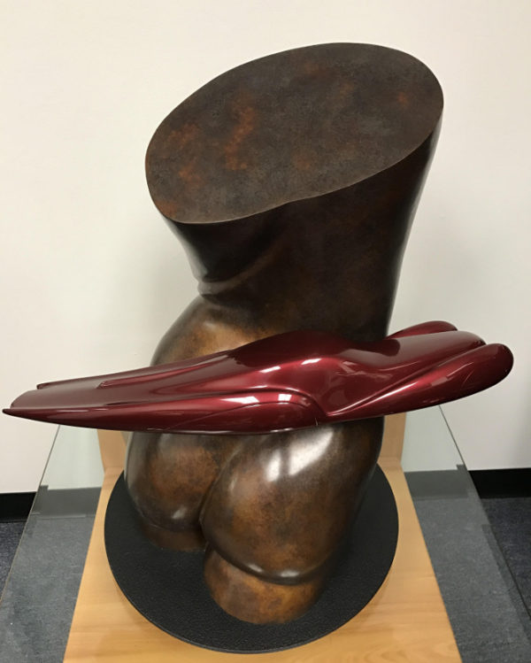 Form Follows Function Talbot-Lago Sculpture by Richard Pietruska