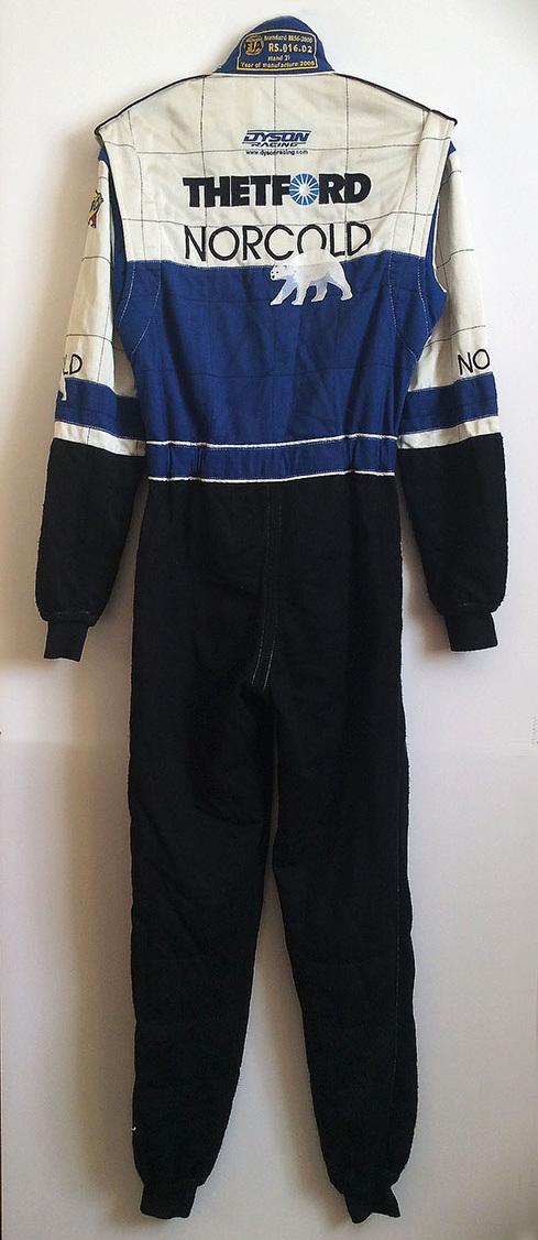 James Weaver Racing Suit Back
