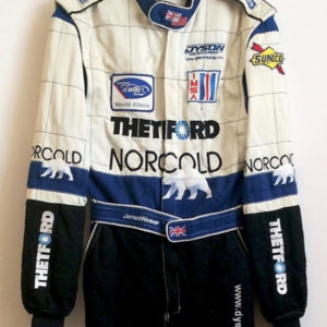 James Weaver Signed Racing Suit