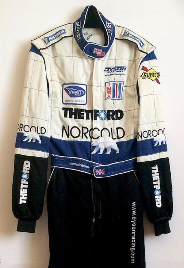 James Weaver Signed Racing Suit
