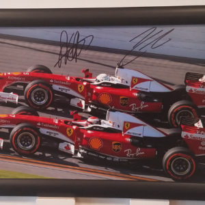 Sebastian & Kimi Autographed Photo