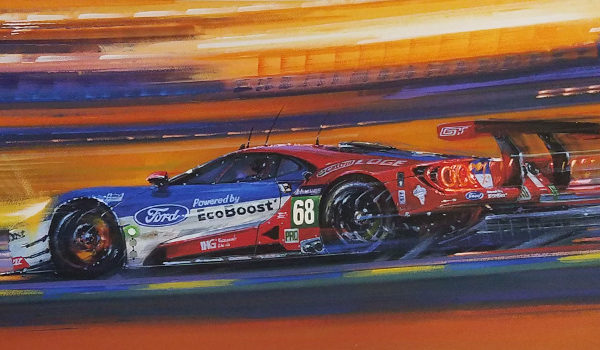 Le Mans 2016 Anniversary for Ford by Nicholas Watts