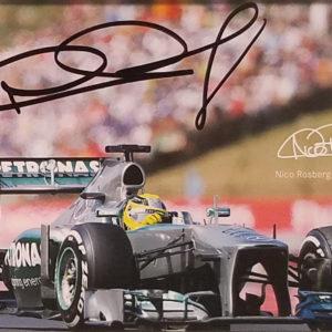 Rosberg Photo Card Close-up