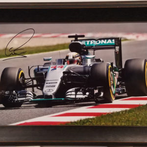 Lewis Hamilton Autographed Photo - Sunday Drive