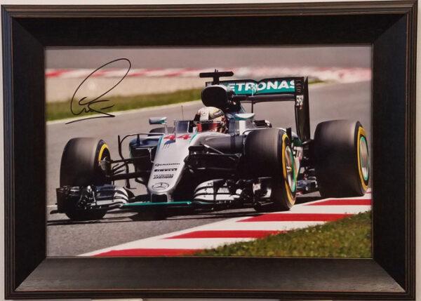 Lewis Hamilton Autographed Photo - Sunday Drive