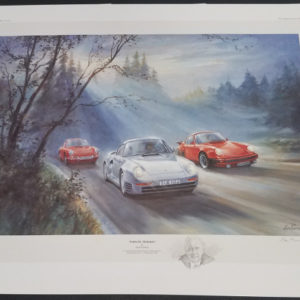Porsche Pedigree - Alan Fearnley