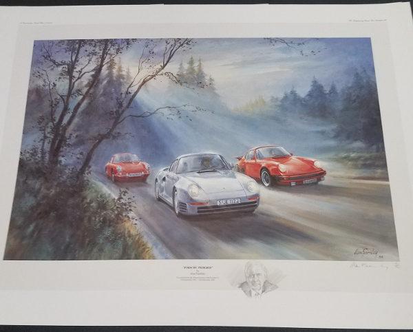 Porsche Pedigree - Alan Fearnley