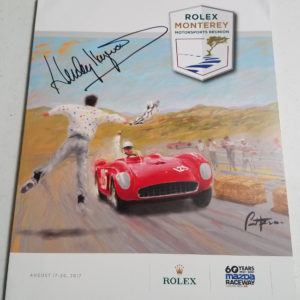 Rolex 2017 Program Front Cover Signed by Haywood