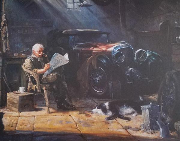 Old Friends by Alan Fearnley
