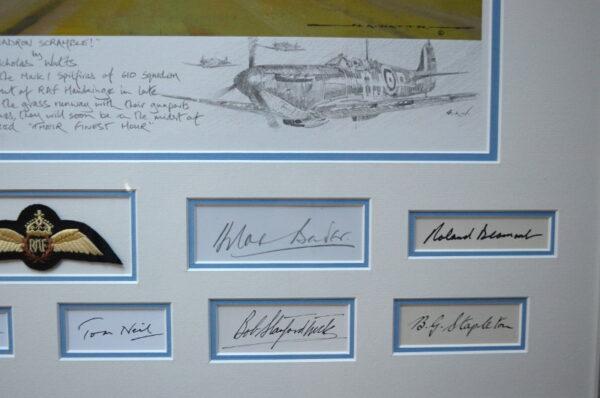 Squadron Scramble Bottom Left Signatures