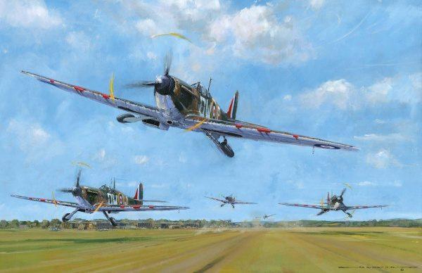 Squadron Scramble by Nicholas Watts