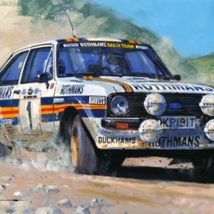 World Rally Champions 1981 by Nicholas Watts