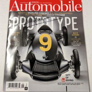 Automobile Magazine Jan 2018 Signed by Haywood