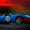 Blue Thunder Print - Alan Greene