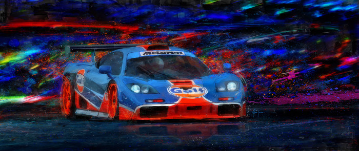 Mac and G's Gulf McLaren Print - Alan Greene
