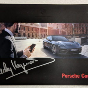 Porsche Connect Signed by Haywood
