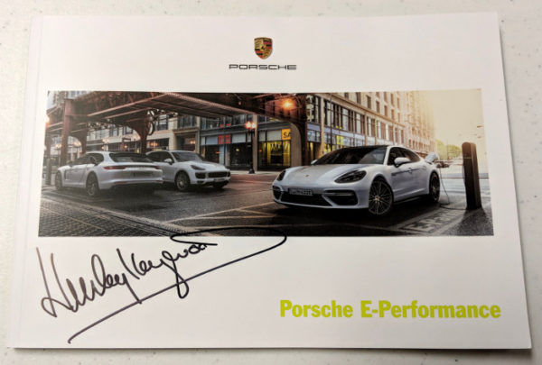 Porsche E-Performance Signed by Haywood