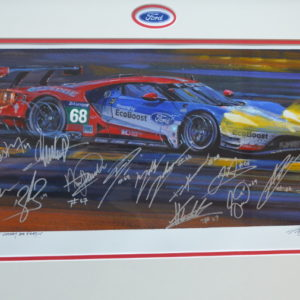 Le mans 2016 Original Painting