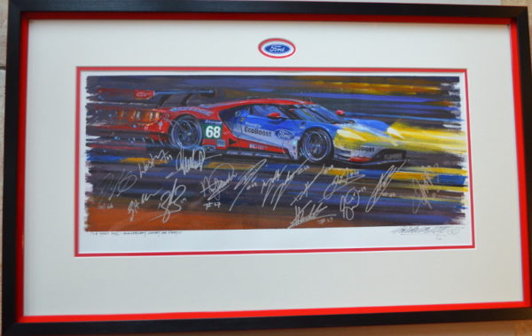 Le Mans 2016 Painting - Nicholas Watts