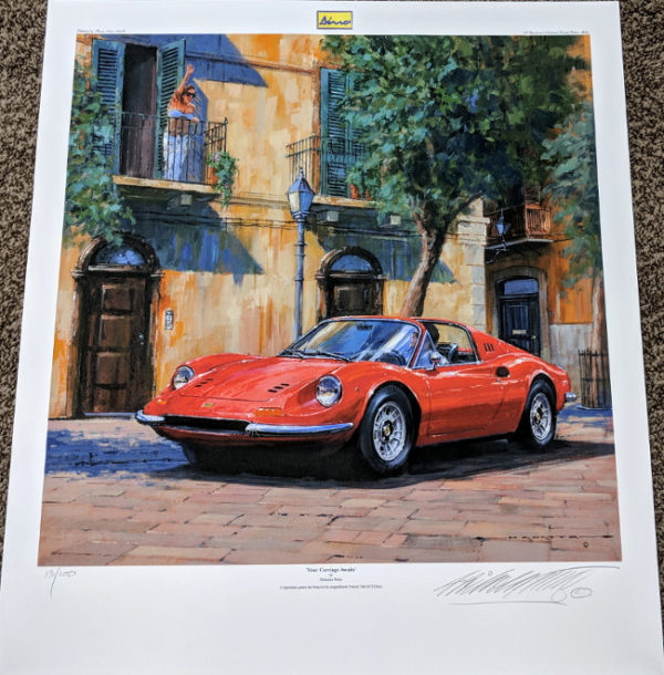Your Carriage Awaits Limited Edition Print by Nicholas Watts