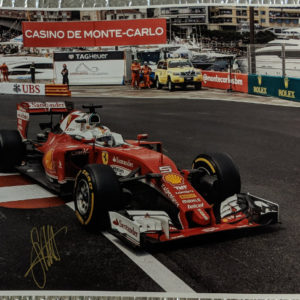 Sebastian Vettel Signed Photo
