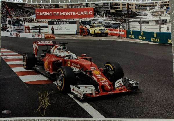 Sebastian Vettel Signed Photo