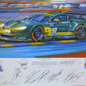 Aston Martin Le Mans 2017 GT - Nicholas Watts