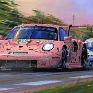 Porsche Victorious - Le Mans 2016 - Nicholas Watts