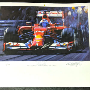Alonso's Turbo Signed by Alonso - Nicholas Watts