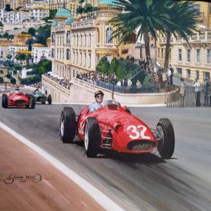 Fangio Monaco GP 1957 - Simon Ward