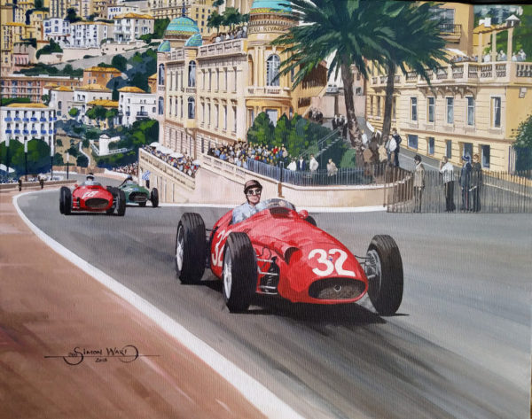 Fangio Monaco GP 1957 - Simon Ward