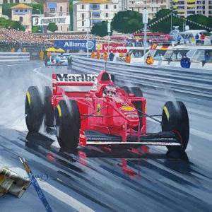 Schumacher 1997 Monaco GP