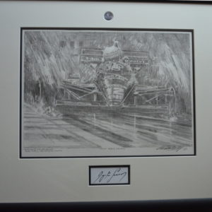 Senna Pencil Study First Among Equals by Watts