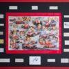 Ferrari Grand Prix History Framed with Signatures