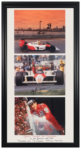 Ayrton Senna Photo Collage